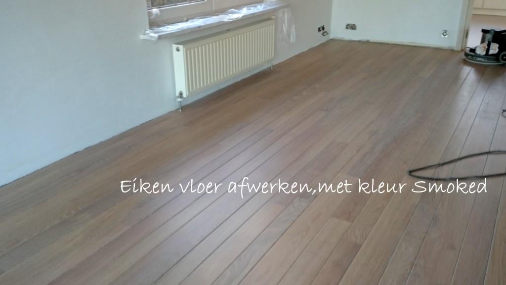 Zelf een houten vloer schuren en olien