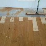 Reparatie houten vloer