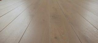 Eiken vloer kleur light grey